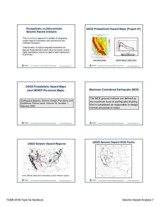 Topic05a Seismic Hazardanalysishandouts