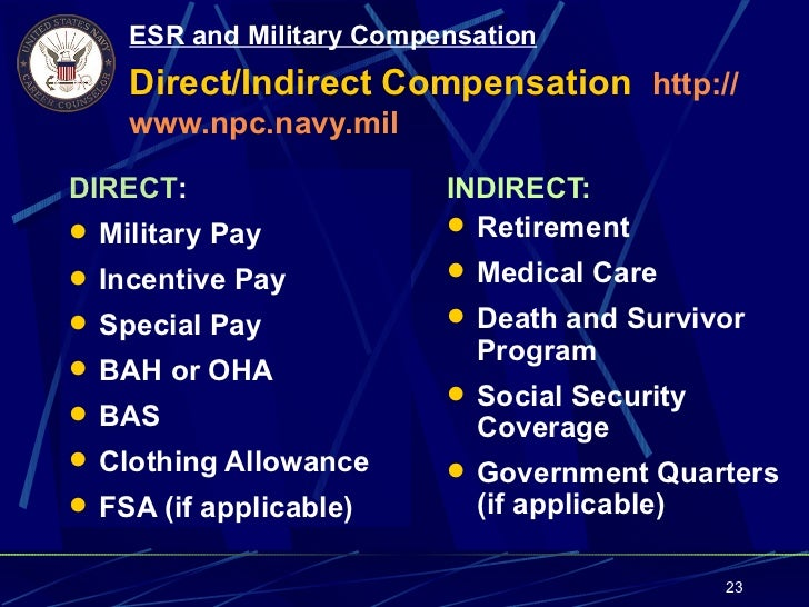 military compensation versus civilian compensation The advantages of a career in the us military greatly outweigh working in a civilian career when considering compensation such as education, salary, health care, and retirement in today's economy, everyone is looking to receive the most from his or her employer.