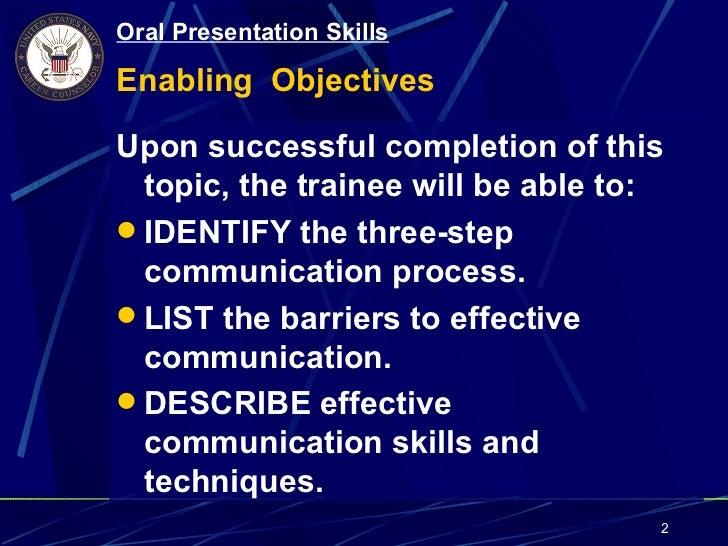 navy oral presentation skills rh slideshare net NAVEDTRA Courses navedtra 134 navy instructor manual pdf