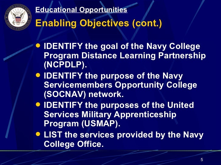 Topic 125 Educational Opportunities
