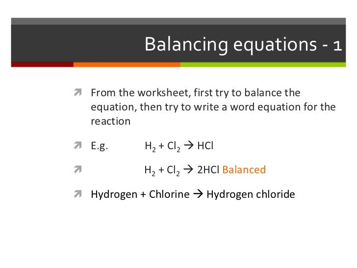 Topic 1 3 Chemical Reactions And Related Calculations