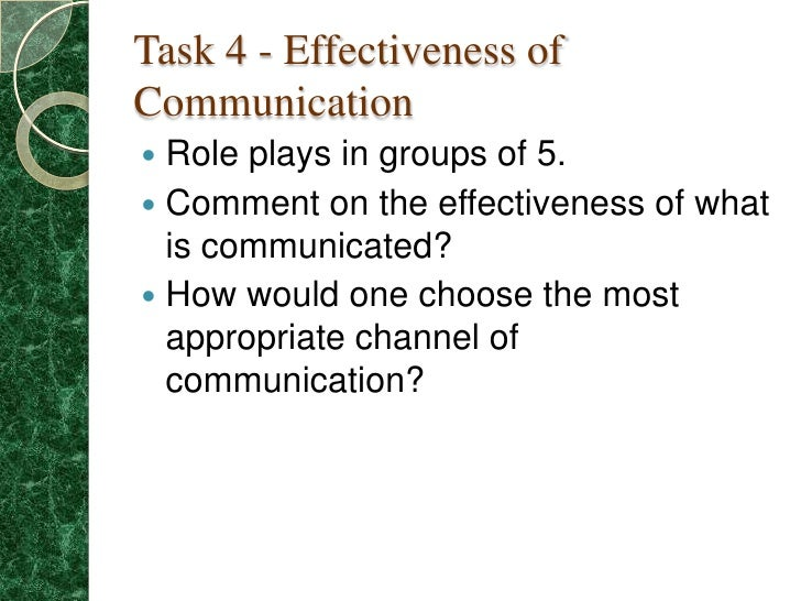 How To Choose The Right Communication Method And Why It's Important