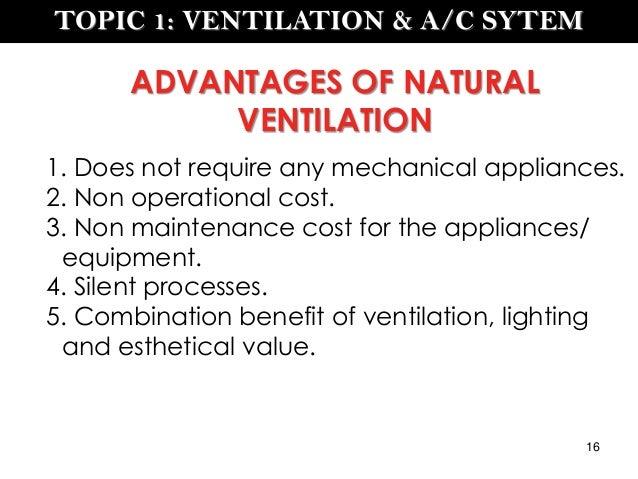 Ventilation Amp A C System