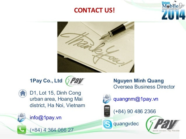 payment systems of vietnam Vietnam is a densely populated, emerging economy that has implemented  the  bank is a member of the local interbank payment system and offers.