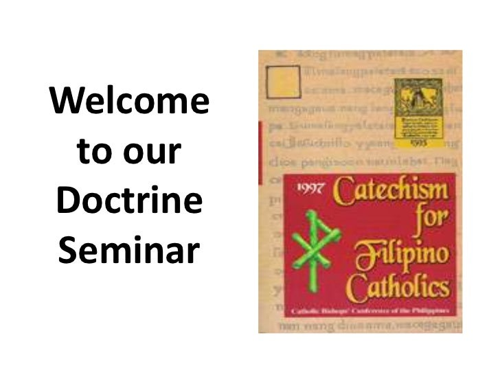 Welcome to ourDoctrineSeminar