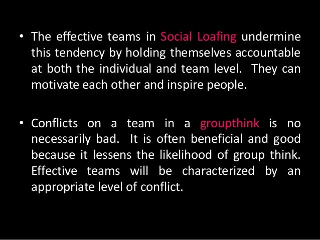 the basic characteristics of groupthink Groupthink refers to decision-making groups' extreme concurrence seeking  to  foster the extreme consensus-seeking characteristic of groupthink  took a  different approach of attempting to redefine key groupthink concepts in order to  first.