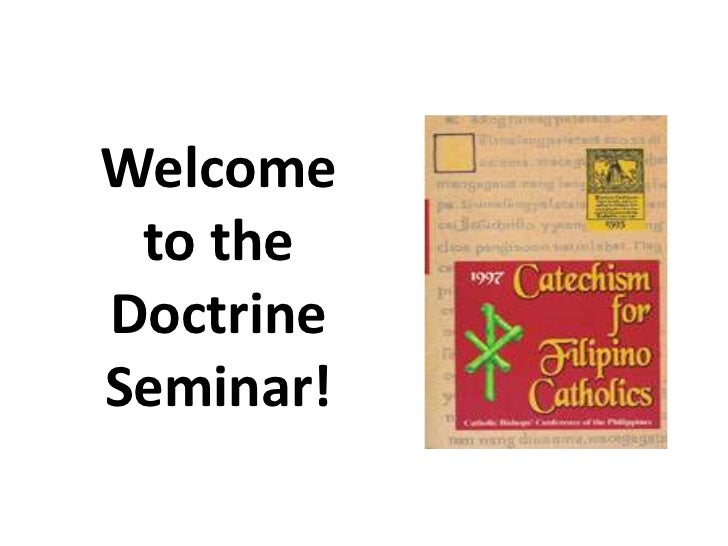 Welcome to theDoctrineSeminar!