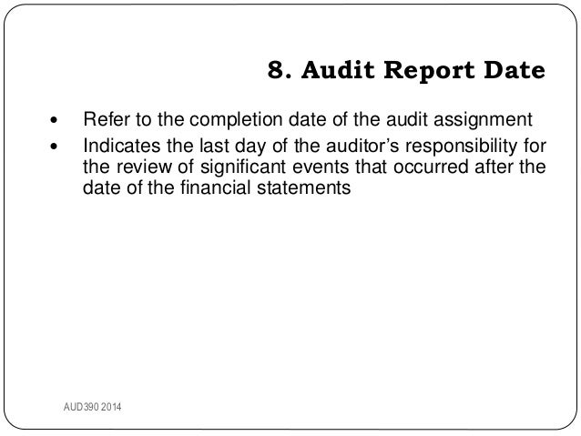 Financial statements adjusted no