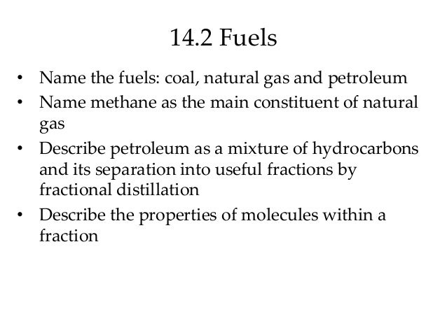 Name Methane As The Main Constituent Of Natural Gas