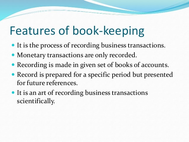 book keeping Learn what bookkeeping is, how it works and how to use it in business.