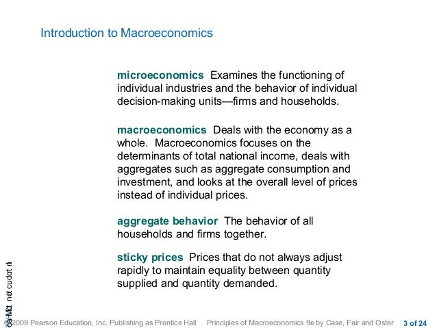 introductory macroeconomics Introductory economics material is integrated standard mathematical tools, including calculus, are used throughout the book easily serves as an intermediate microeconomics text, and can be used for a relatively sophisticated undergraduate who has not taken a basic university course in economics.
