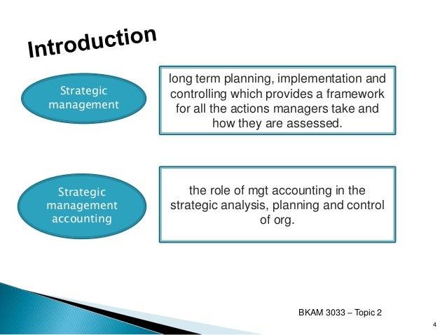 Objectives of strategic management essays