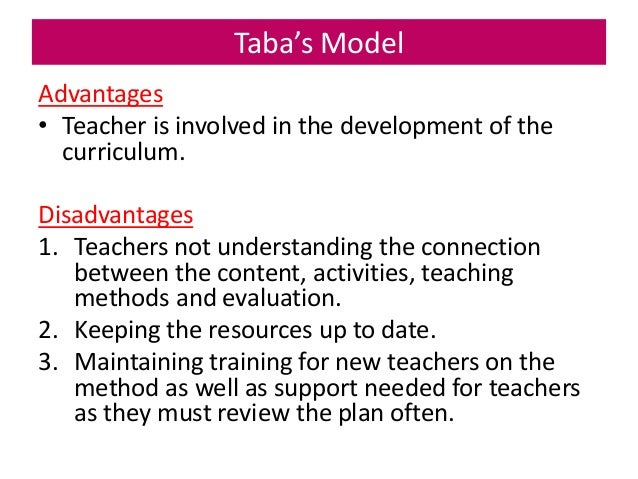 TSL3143 Topic 2a Models of Curriculum Design