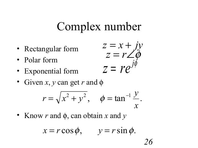Complex numbers polar form to exponential form – Software top download