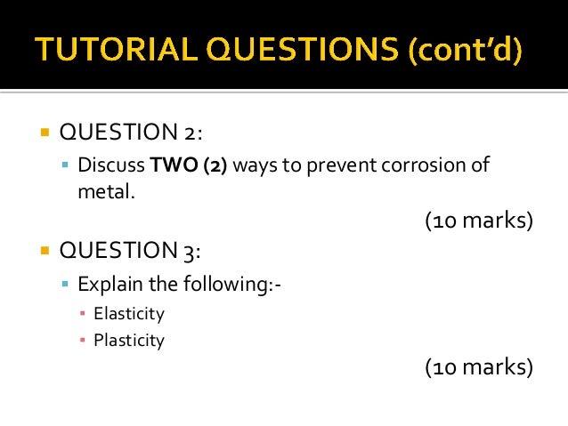 Tutorial question week 2