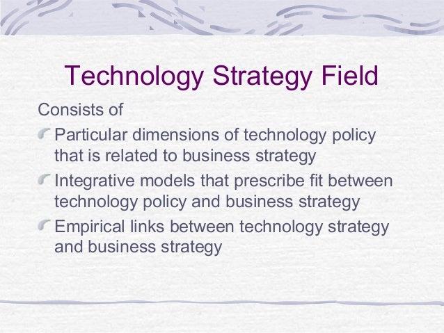 information technology strategy pdf