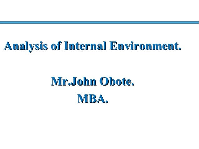 internal business environment The differences between internal and external environment is: internal environment involve within the organization, which are theemployee.