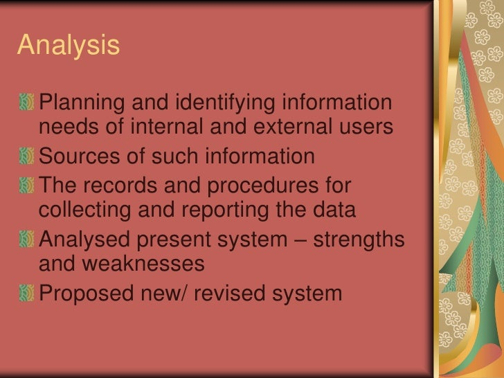an analysis of the topic of the accounting systems Articles articles topics index site archive posting has been eliminated in some accounting systems financial analysis value pack accounting bestsellers.
