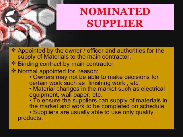Contract Procedure