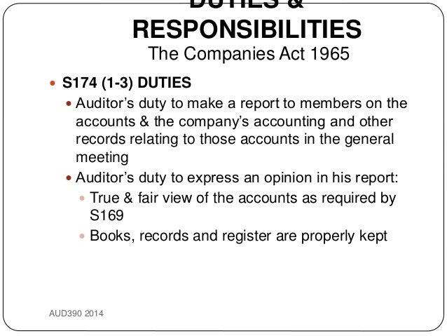 duties responsibilities