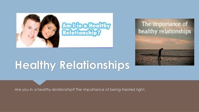 Healthy Relationships in Adolescence