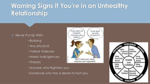How To Tell If A Relationship Is Unhealthy