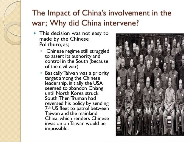 Cause and effect essay on korean war