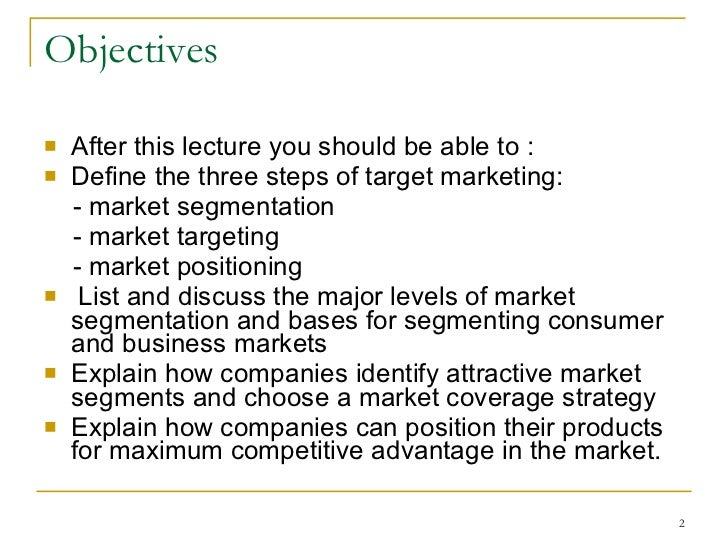 marketing mgmt Topic 4