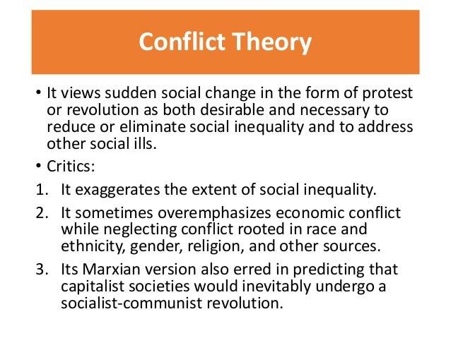 » Conflict Perspective in Gender Inequality Essay