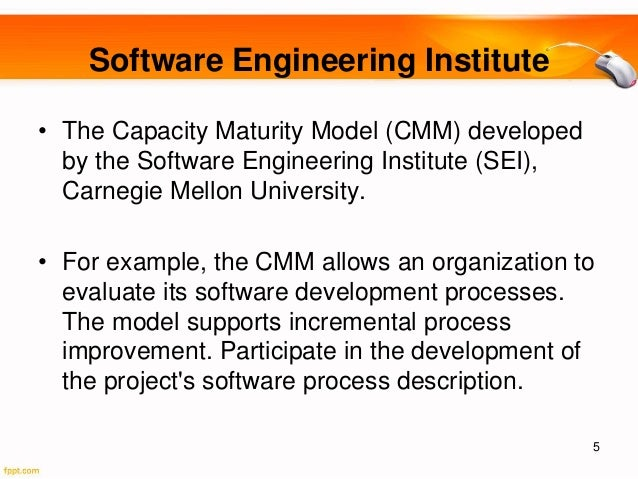 Topic 5 capability maturity model
