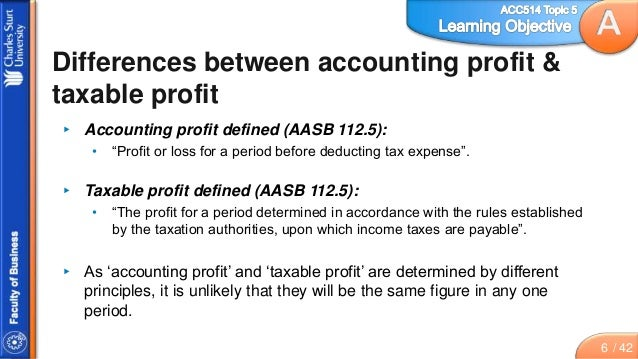 aasb 112 income taxes
