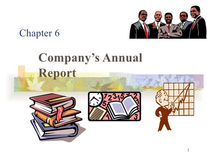 Chapter 6 Company's Annual Report