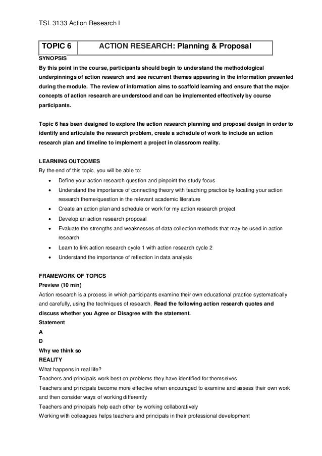 action research proposal tesl ipg