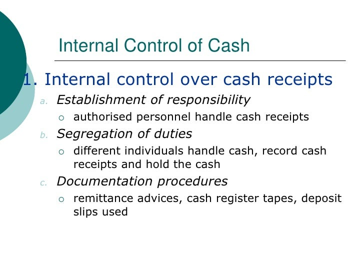 acc220 internal cash control A 9 gift acknowledgements approved & signed by executive director v control  points 5 6 cash receipts internal controls if gift is cash/check if gift is stock.