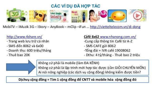 CÁC VÍ DỤ ĐÃ HỢP TÁC Càfê 8x62 www.nhanong.com.vn/ -Cung cấp thông tin Cafê từ A-Z - SMS CAFE gửi 8062 -Tổng đài + IVR caf...