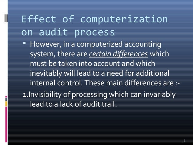 Effects of Auditing in a Company? Essay