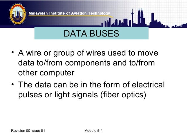 Topic 6 Digital Technique Data buses