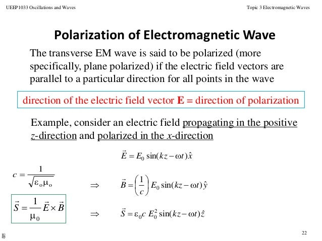 plane polarized light equation with Topic 6 Em Waves on FresnelEquations likewise Polarizacion additionally May The Force Field Be With You Primer On Quantum Mechanics And Why We Need Quantum Field Theory additionally Introduction To Substitution Reactions additionally Interactive Animations Of Electromag ic Waves.