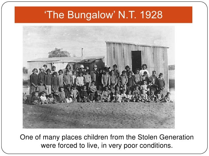 stolen generation Family tracing and reunion services are available to stolen generations through the national link-up program link-up was established in 1997 as a result of the.