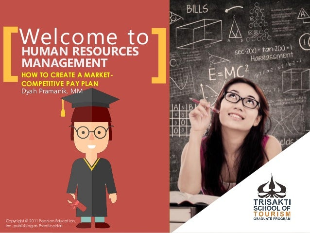 HUMAN RESOURCES MANAGEMENT HOW TO CREATE A MARKET- COMPETITIVE PAY PLAN Dyah Pramanik, MM [ ] Copyright © 2011 Pearson Edu...