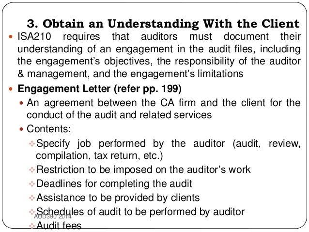 Topic 7 Audit Planning 2