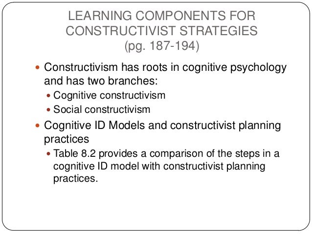 Topic 8 Developing An Instructional Strategy