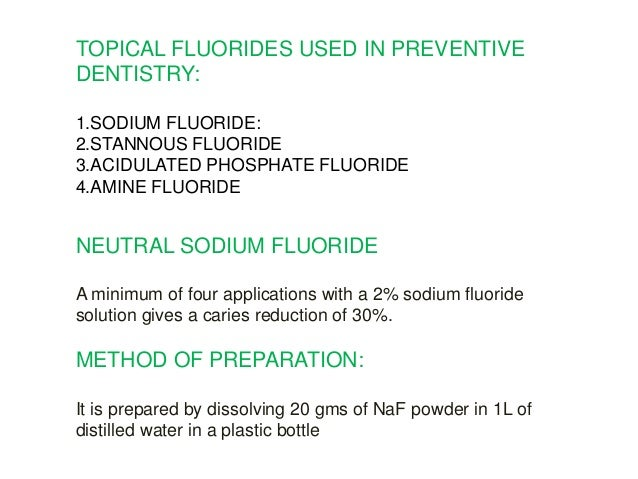 What is the difference between stannous fluoride and sodium fluoride?
