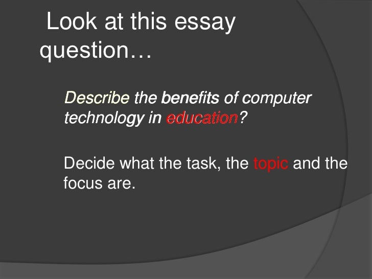 thesis focus question A discussion of your research question or thesis statement  it clarifies the structure of your thesis and helps you find the correct focus for your work the.