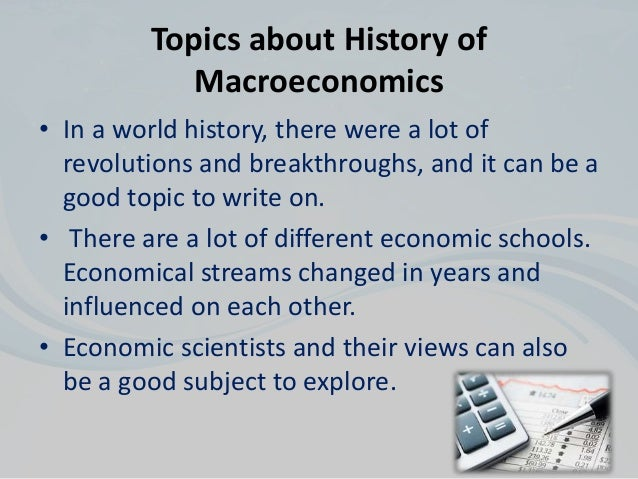 macroeconomics term papers