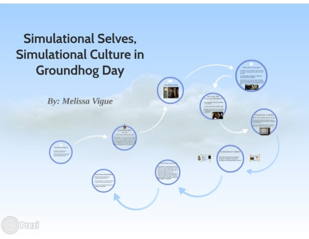 Simulational Selves,  Simulational Culture in Groundhog Day  By:  Melissa Vigue