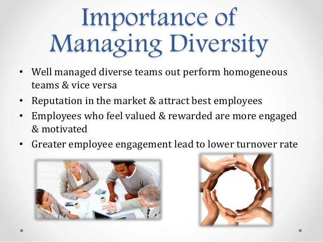 why is diversity an important challenge Diversity in the workplace: challenges, advantages & value  talent with  different thinking and problem solving backgrounds is essential.