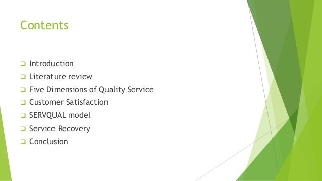 introduction about service quality Chapter one introduction 10 background to the study this research work takes a look at service quality and customers satisfaction in banking.