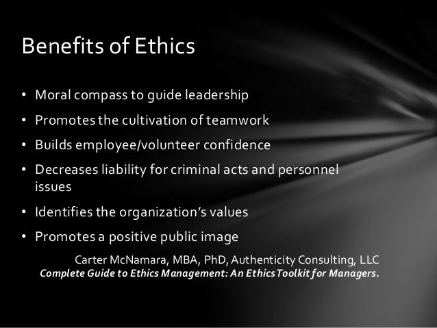 why are ethics important in teamwork Why is ethics important ethics is a requirement for human life it is our means of deciding a course of action without it, our actions would be random and aimless.