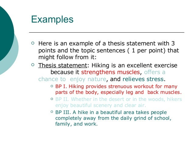example of thesis topic